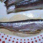 Панировка рыбы в манке - рецепт жареного наутилуса с фото