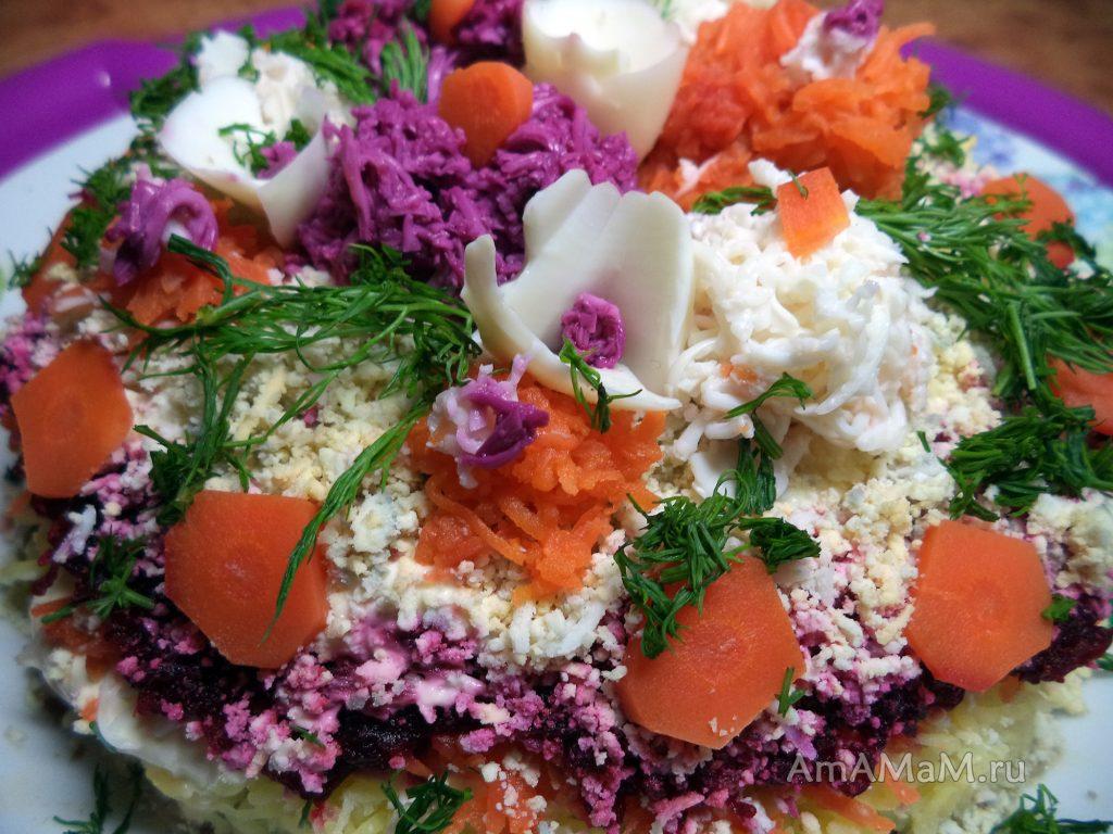 Как цветы на салате - секреты приготовления