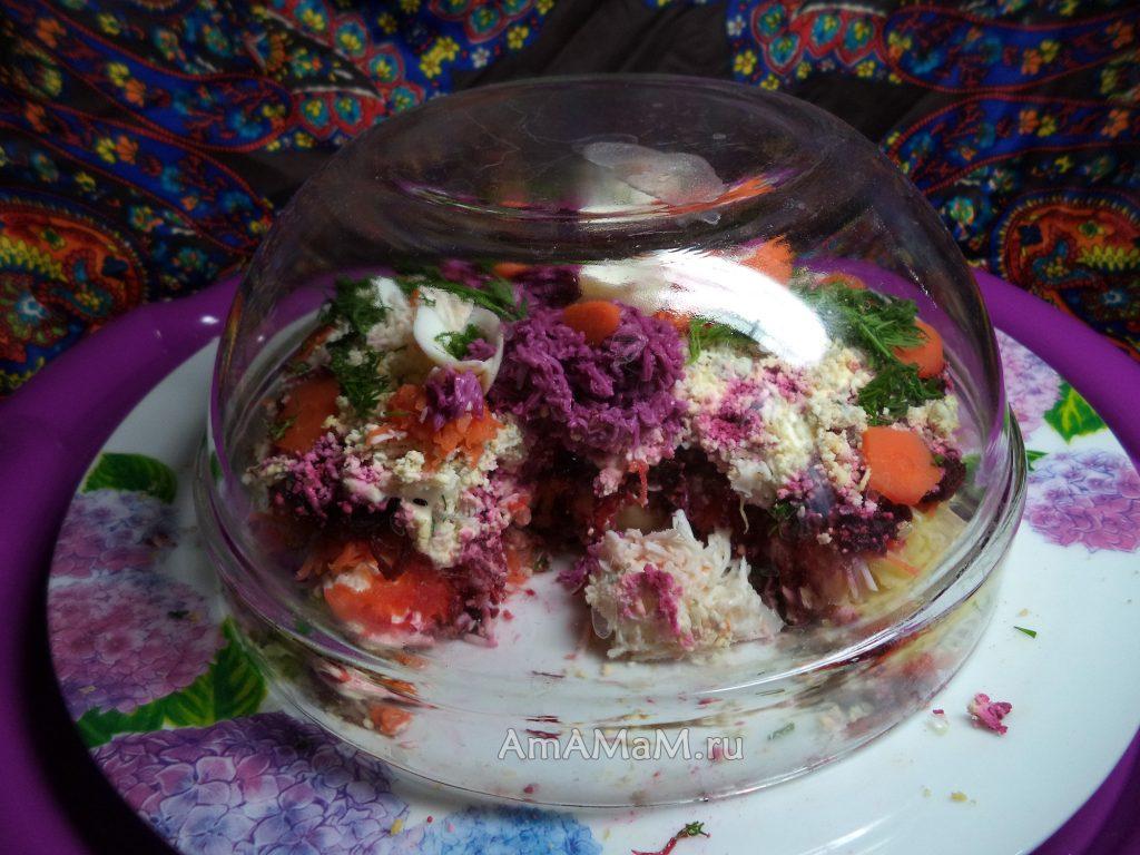 Хранение селедки под шубой в холодильнике