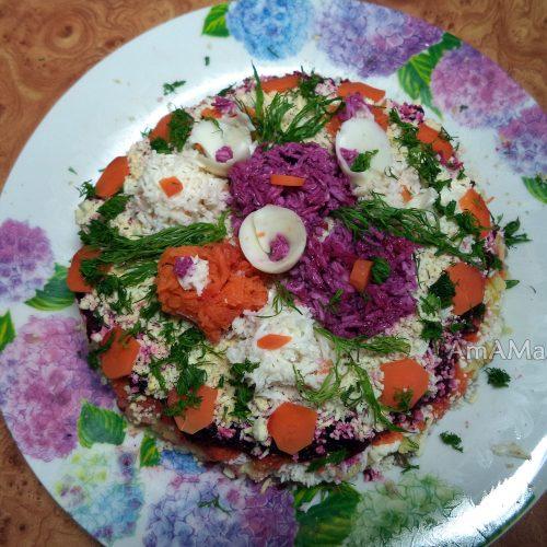 Украшение салатов описание фото