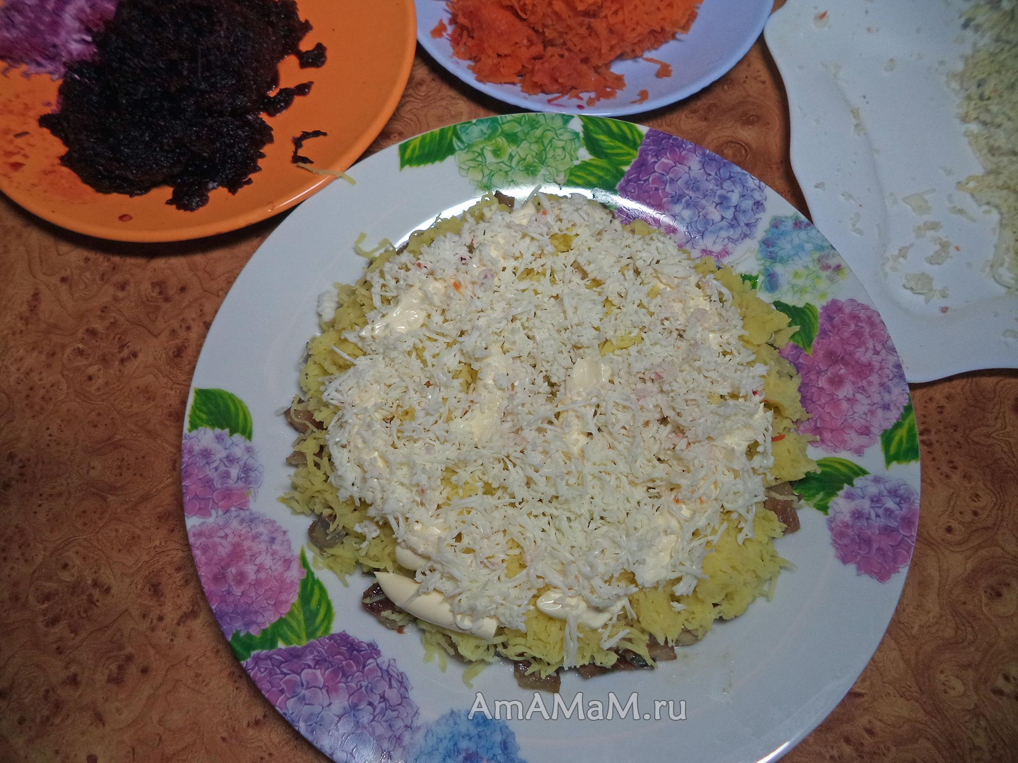 Как сделать под шубой салат