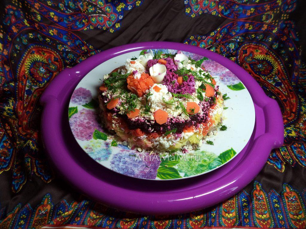 Секрет приготовления селедки под шубой - вкусный и простой рецепт