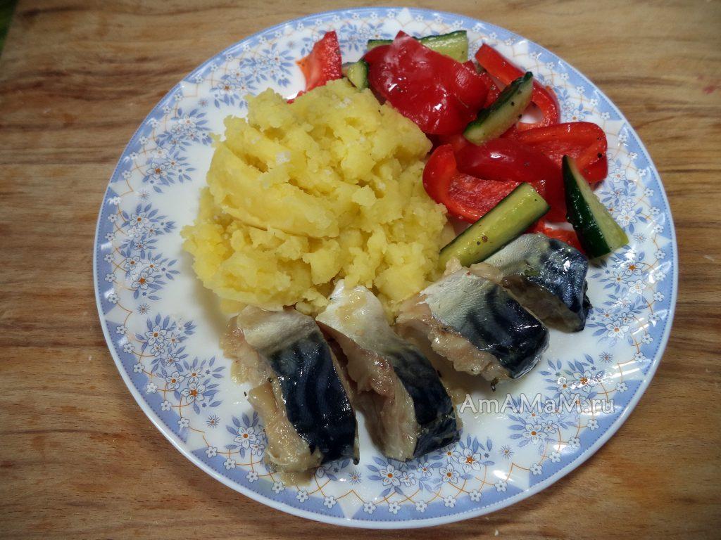 Рецепт приготовления скумбрии с пошаговыми фото