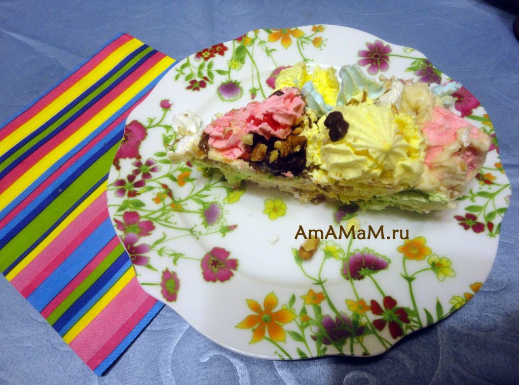 Домашний торт - безе