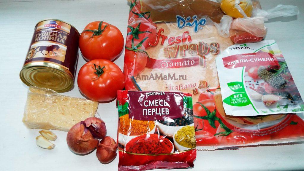 Блюдо энчилада - из чего готовить