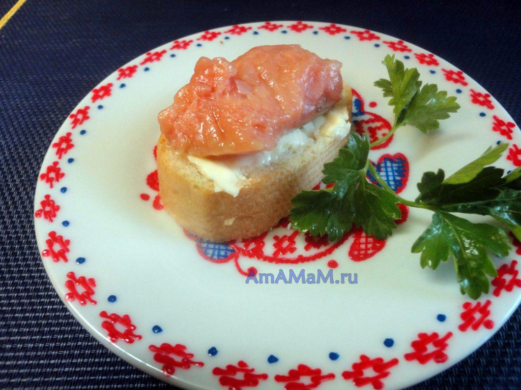 Соленая красная рыба- домашний посол горубши