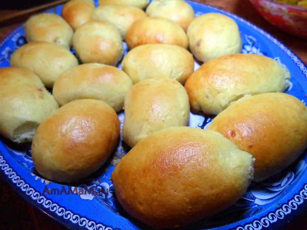 Вкусные пирожки из дрожжевого теста и рецепт приготовления