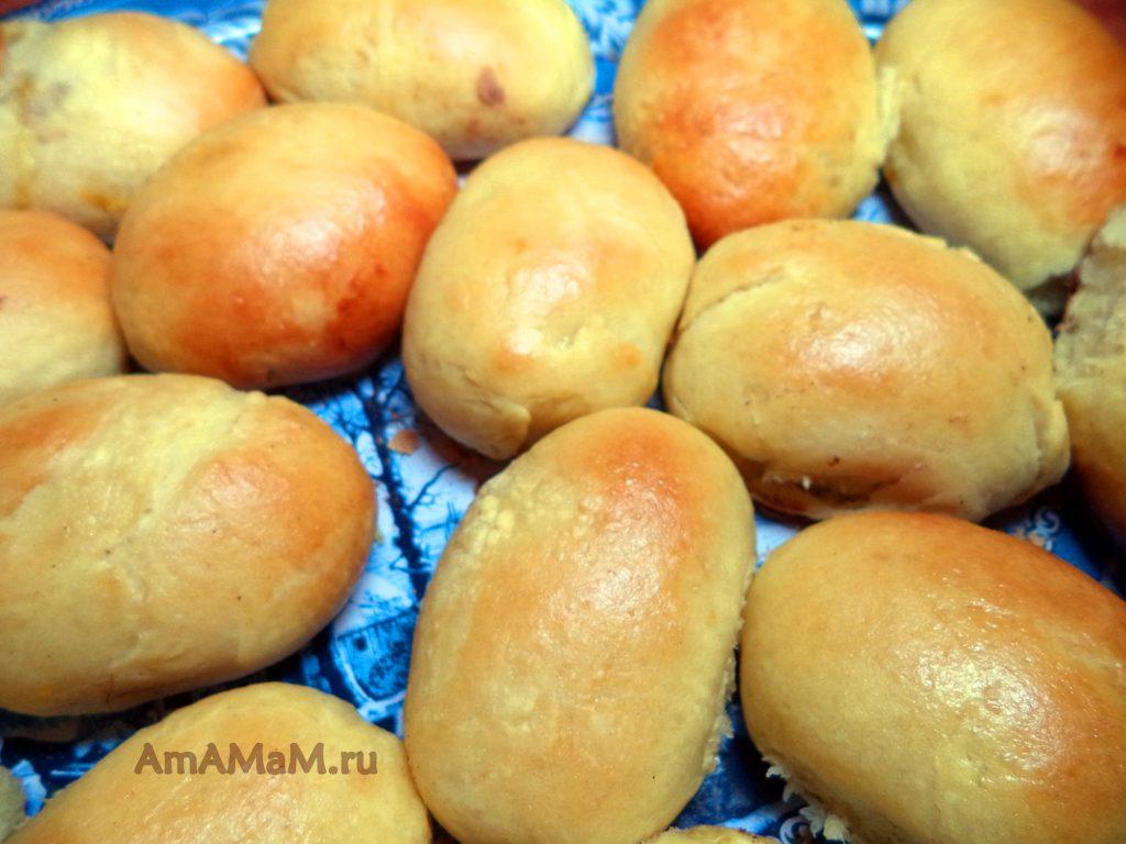 Тыквенные пирожки (сладкие) - рецепт