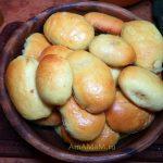 Печеные пирожки - домашний рецепт , сладкая тыквенная начинка