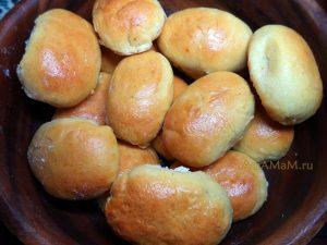 Пирожки с начинкой из тыквы - сладкие - рецепт