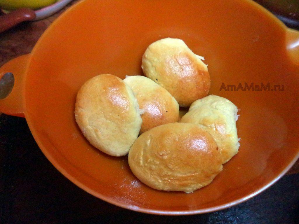 Пирожки тыквенные - фото и рецепт