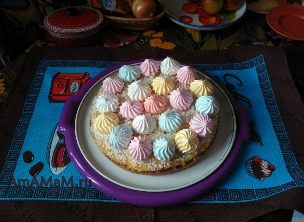 Как сделать торт с апельсинами - рецепт с фото