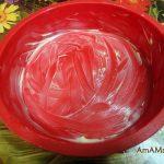 Форма силиконовая для пирога, смазанная маслом
