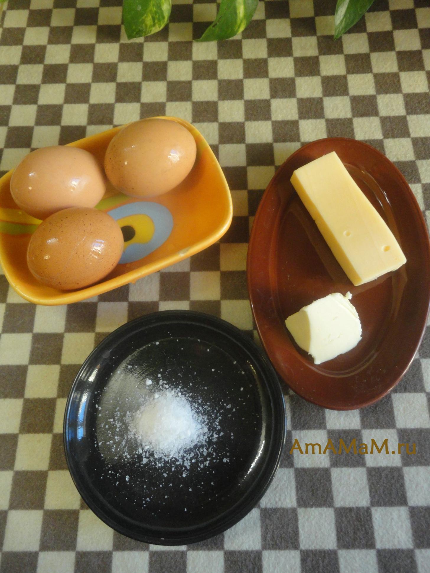 Яйца Орсини - ингредиенты, время и температура запекания - фото и рецепт