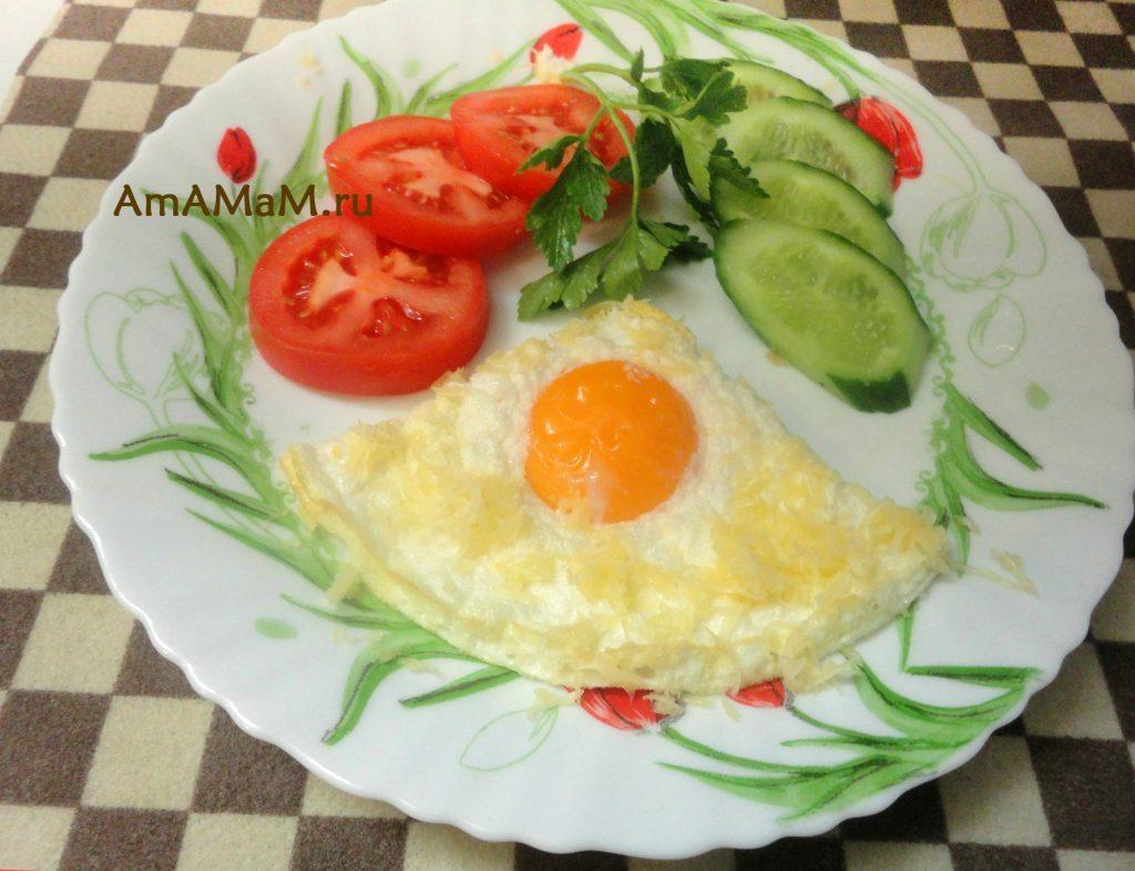 Интересная и необычная яичница - рецепт яиц Орсини (яйца в гнезде)