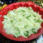 Выпекание нежного капустного пирога-запеканки в силиконовой формочке