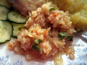 Приготовление риса с капустой- пошаговый рецепт и фото