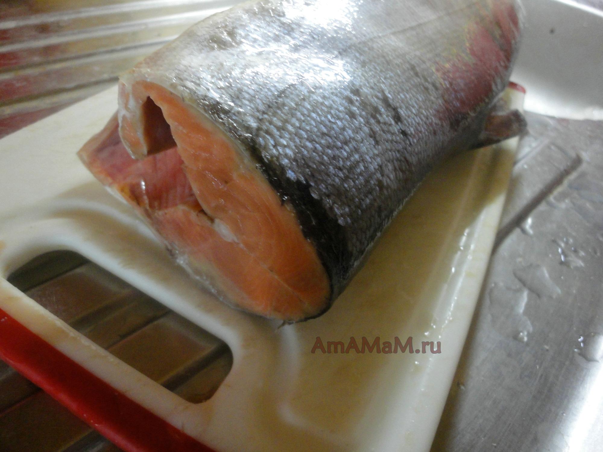 Как засолить кету в домашних условиях рецепт