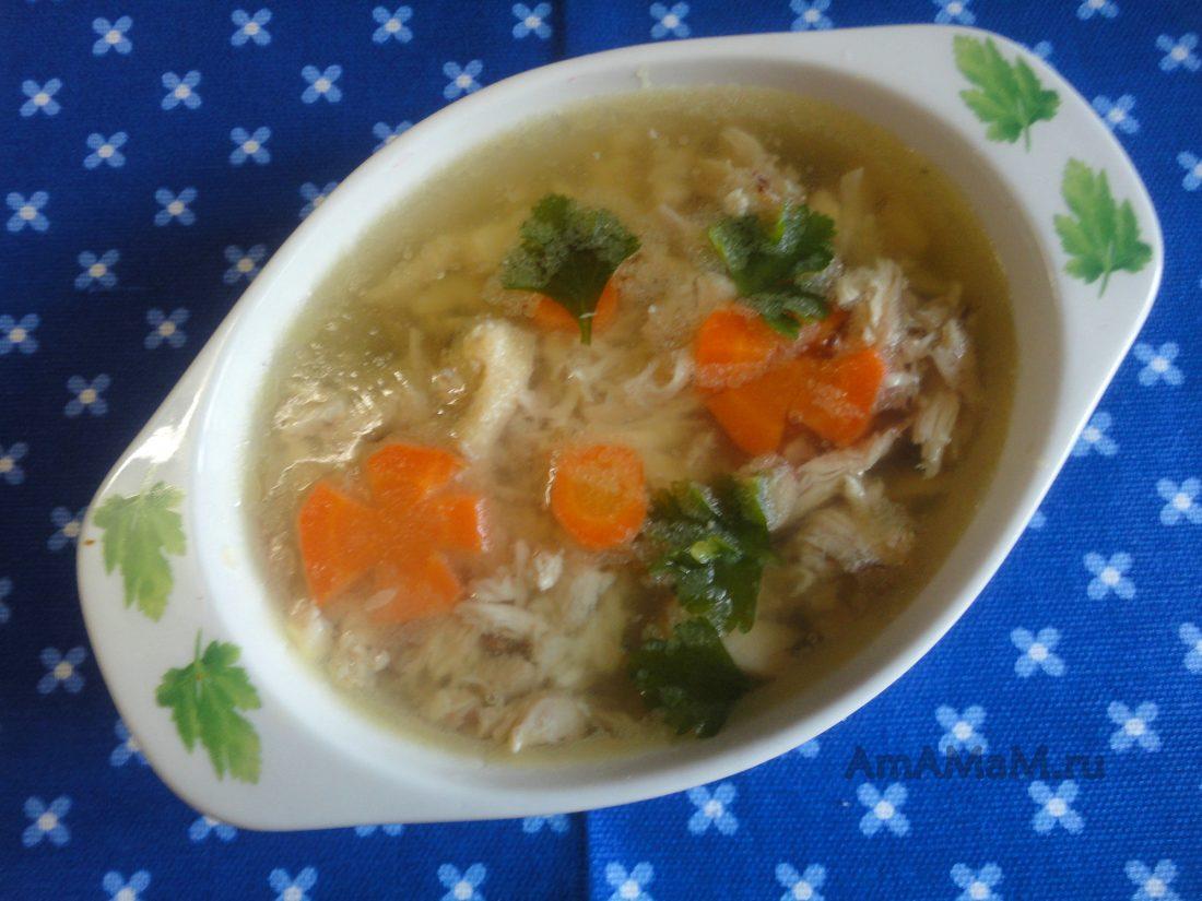 Холодец из курицы и желатина рецепт пошагово