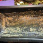 В чем запекать рыбное блюдо - обсыпка формы сухарями