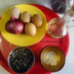 Состав и рецепт салата из морской капусты с яйцом