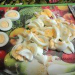Нарезка яиц полосочками (полукружьями)