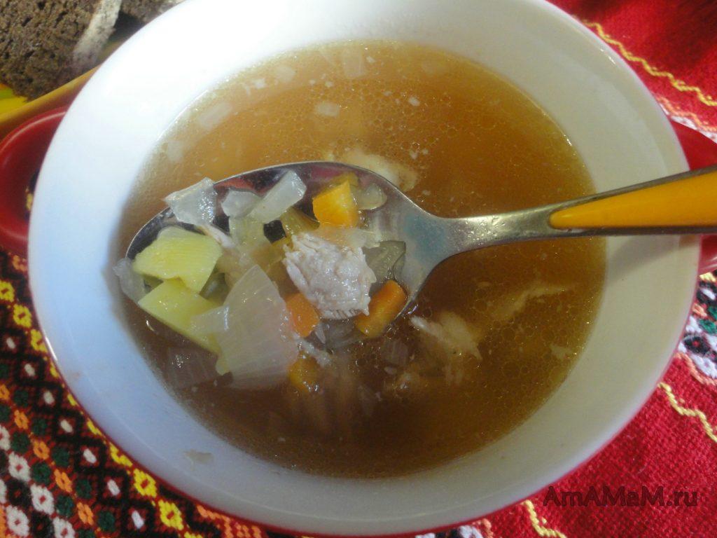 Суп из кислой капусты - кислые щи
