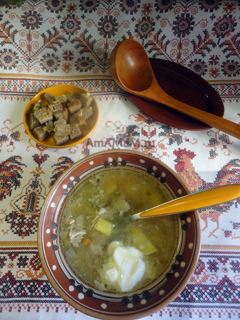 Приготовление кислых щей из кислой капусты - рецепт и фото