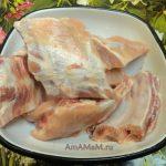 Фото свиных ребрышек в сыром виде
