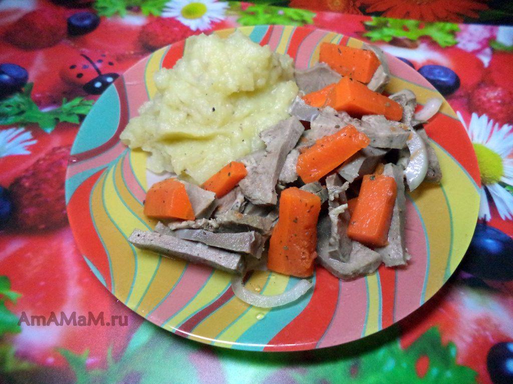 Что готовить из свиного языка - рецепт и фото