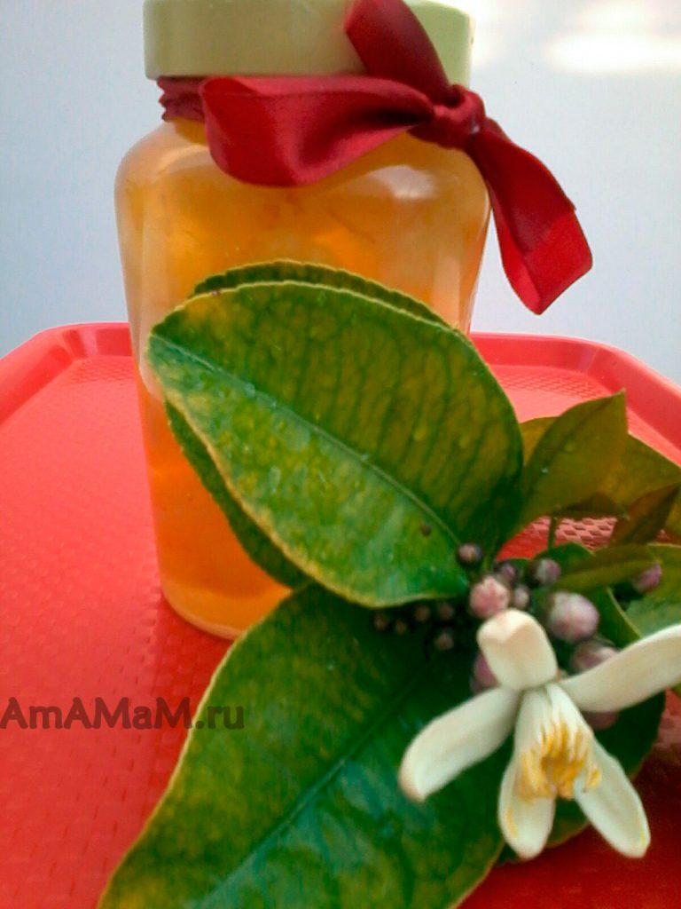 Рецепт варенья из бергамота (цукаты из кожуры цитруса в сиропе)