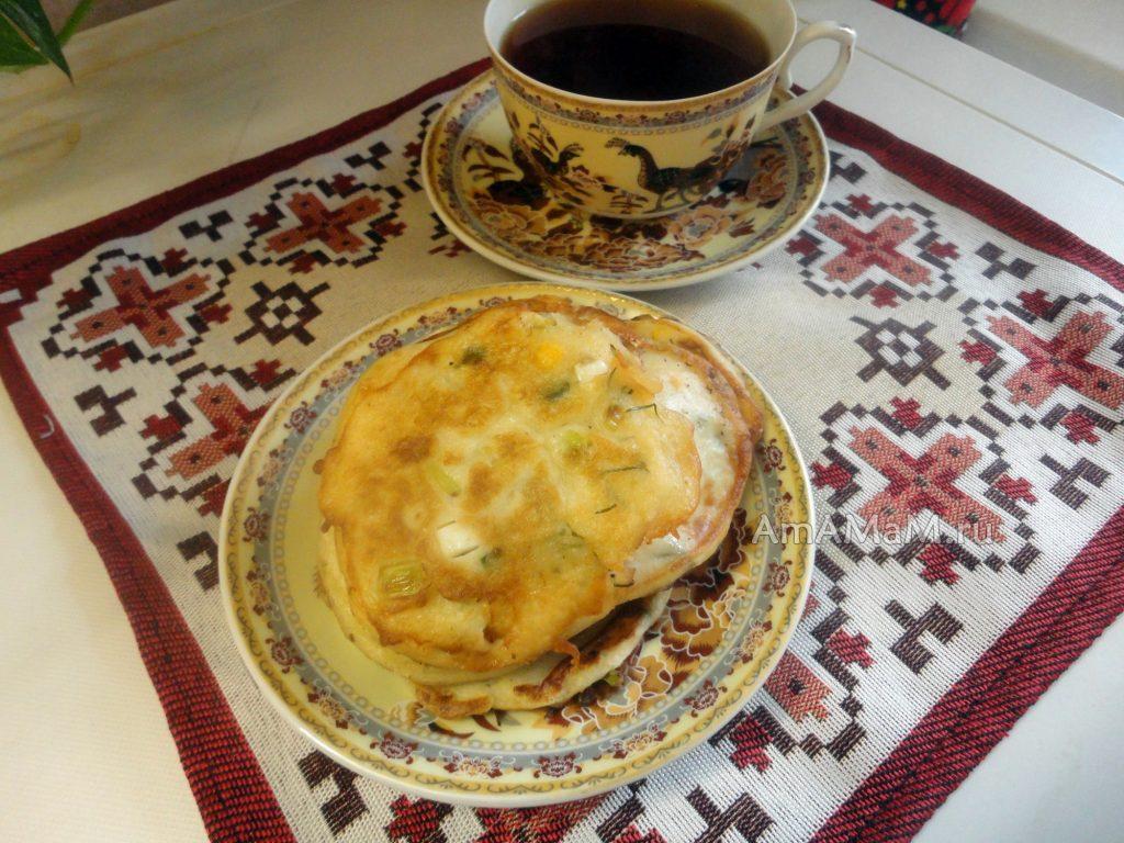 Лепешки на сковороде вместо хлеба рецепт