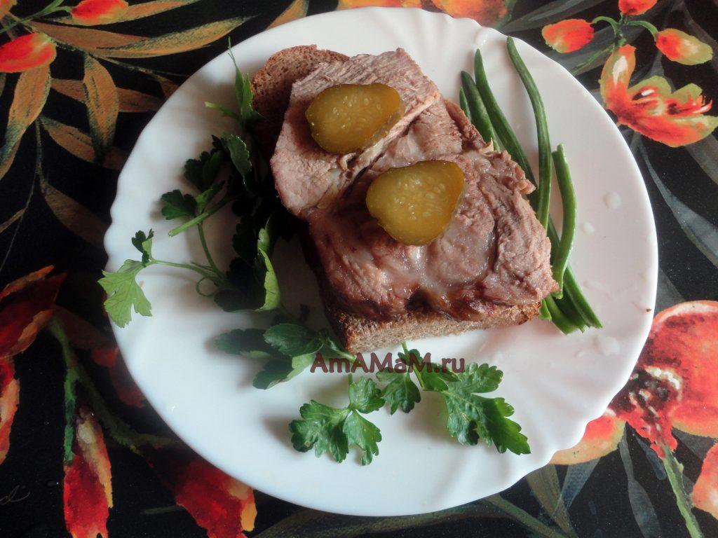 Вкусное домашнее мясо и простой рецепт