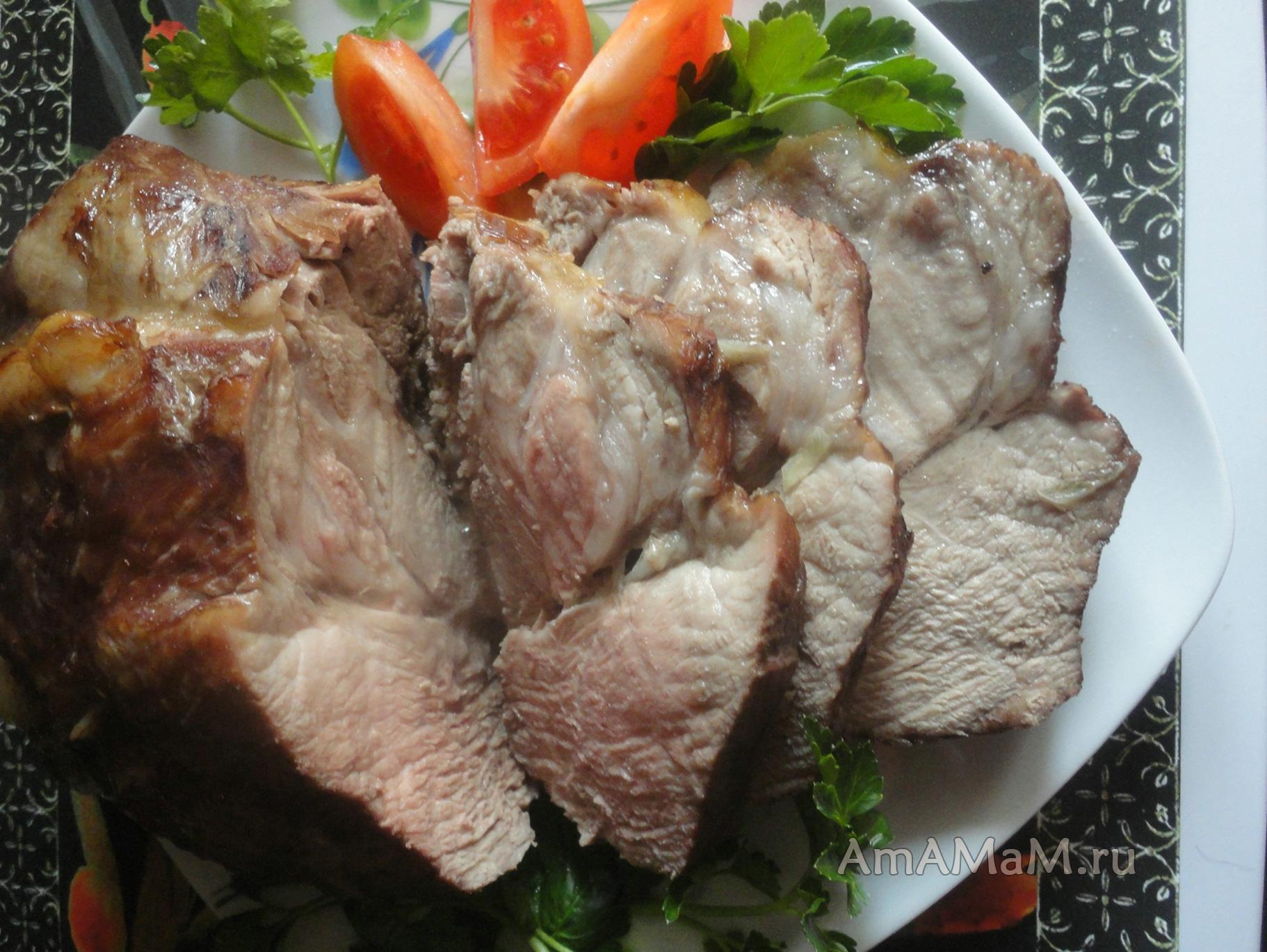 Шейка из свинины в домашних условиях рецепт
