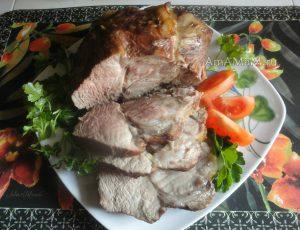 Приготовление свиной шейки в соевом соусе - рецепт и фото
