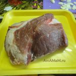 Кусок свинины (свиная шейка)