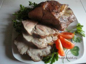 Рецепты приготовления буженины с фото - вариант в соевом соусе