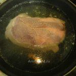 Вареная свиная шейка - процесс приготовления