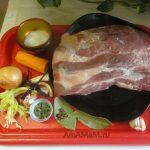 С чем варить свиную жейку для буженины