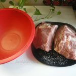 Как солят куски мяса перед запеканием - рецепт буженины из шейки