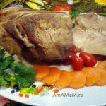 Буженина вареная (свиная шейка)