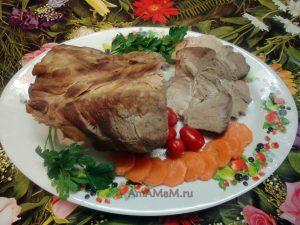 Рецепт буженины вареной с пошаговыми фото