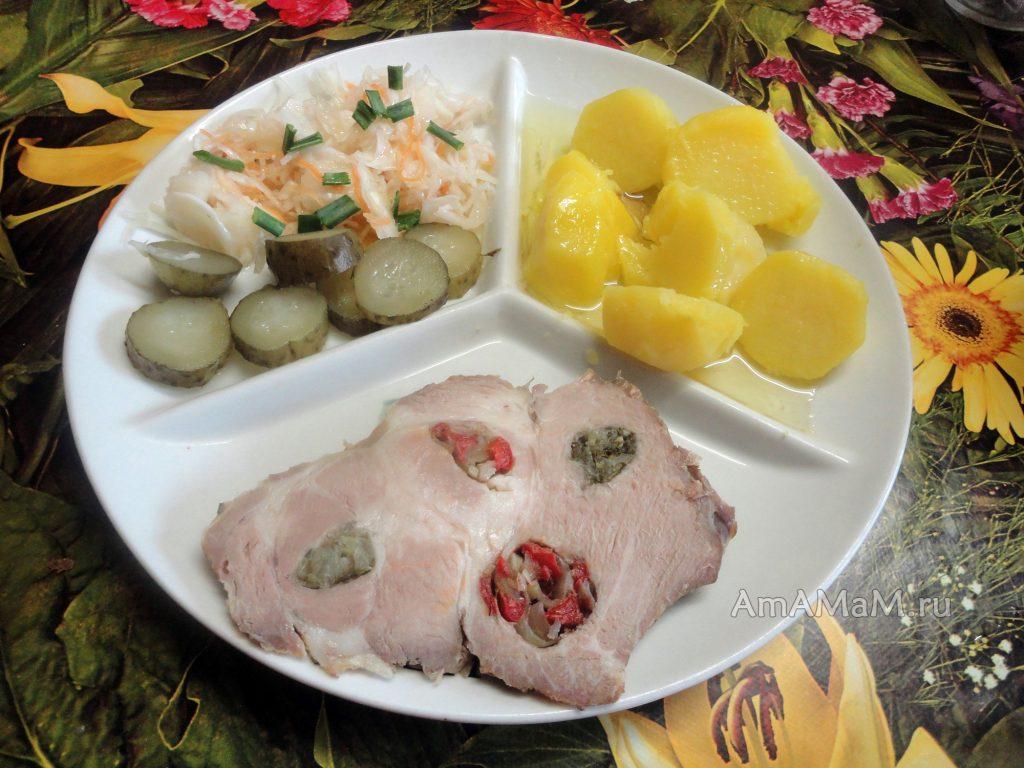 Рецепты ужинов из домашних продуктов - делаем буженины