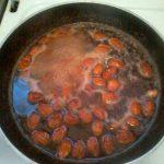 Процесс приготовления грильяжа с миндалем