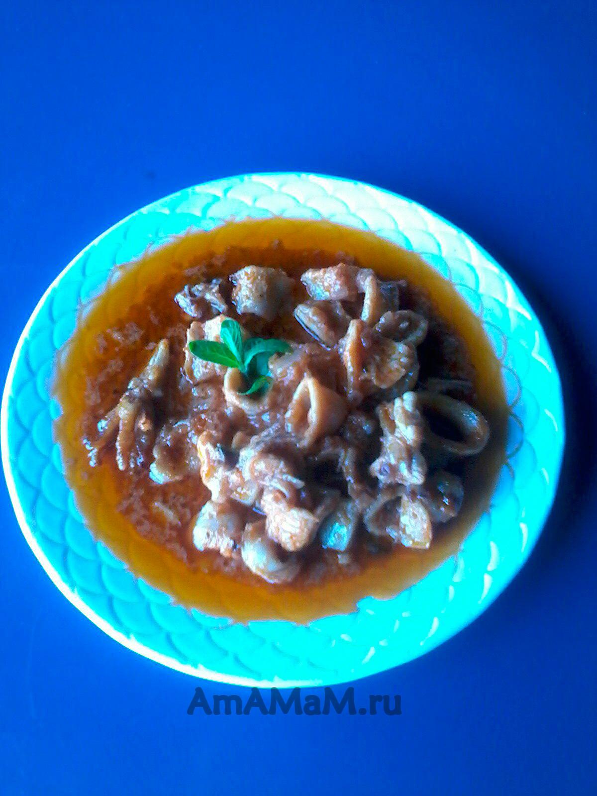 Блюда с мексиканской смесью в мультиварке