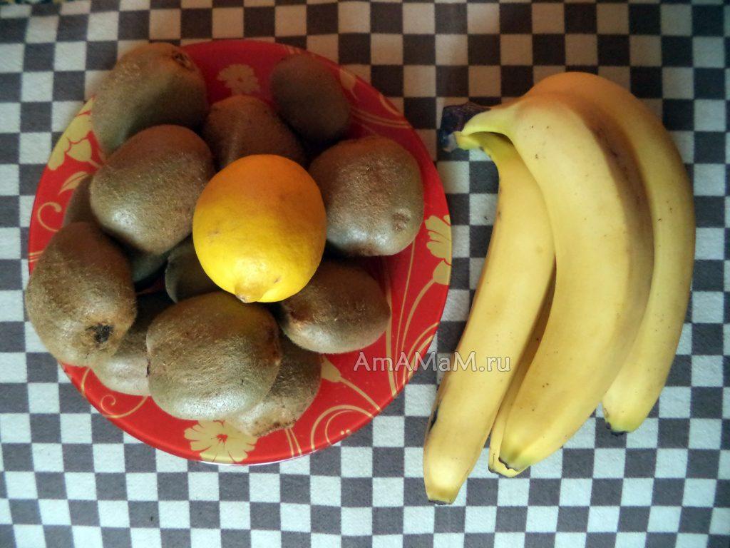 Рецепты варенья и джемов из киви с фото