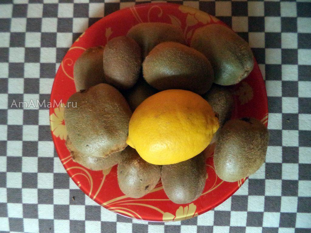 Фото плодов киви и рецепты консервирования