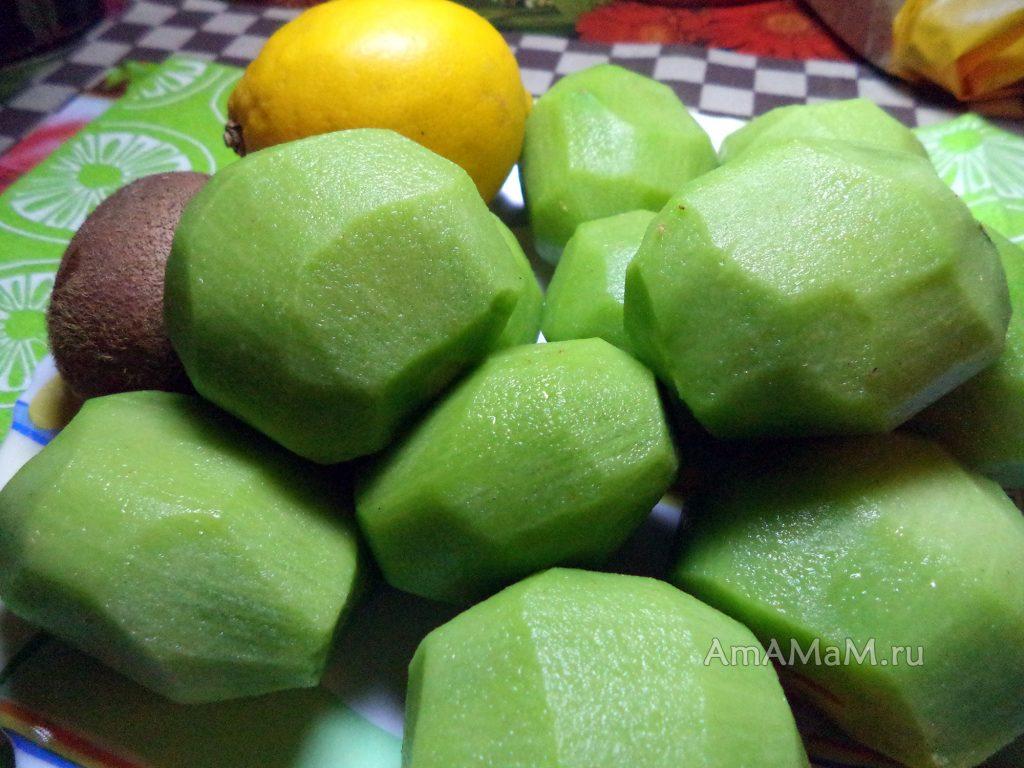 Что кладут в варенье из киви - рецепт с фото