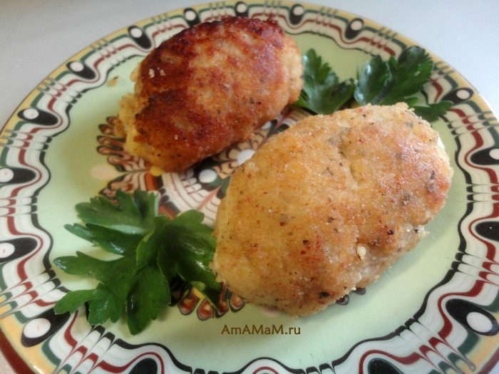 Рецепт домашних рыбных котлет с фото
