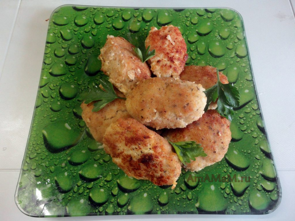 рецепты рыбные котлеты из трески рецепт